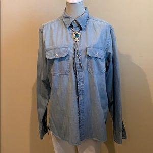 American Eagle Button Down Shirt (M)